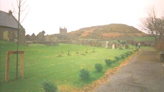 View from Maughold churchyard